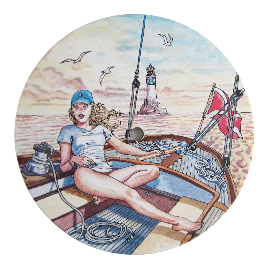 peinture berlac cadran de montre Ulysse Nardin - Manufacto